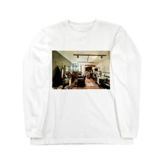 barberSii..  店内 Long sleeve T-shirts