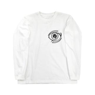 Magia El ojo (魔法の目) Long sleeve T-shirts