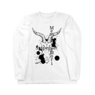 Scapegoat-Memento Mori(淡色向け) Long sleeve T-shirts