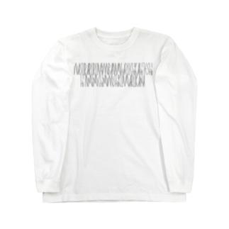 「百人一首 38番歌 右近」 Long sleeve T-shirts