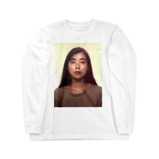 ユイのあべゆい母2(ちょっと明るくしてみた) Long sleeve T-shirts