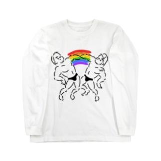 over the rainbow Long sleeve T-shirts