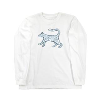 【NANN TO NAKU】きゃっと Long Sleeve T-Shirt