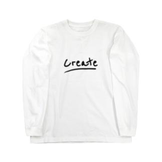クリエイター必須 Long sleeve T-shirts