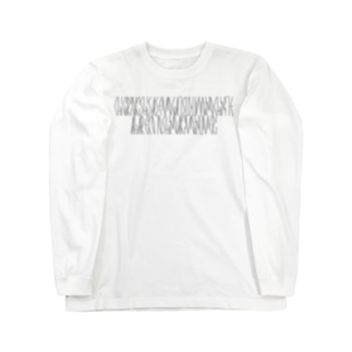 「百人一首 75番歌 藤原基俊」カナクギフォントL Long sleeve T-shirts