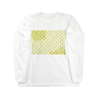 麻柄30% Long sleeve T-shirts