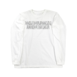 「百人一首 93番歌 鎌倉右大臣」カナクギフォントL Long sleeve T-shirts