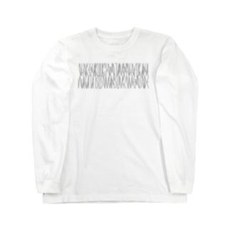 「百人一首 95番歌 前大僧正慈円」カナクギフォントL Long sleeve T-shirts