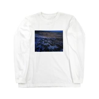 荒波 Long sleeve T-shirts