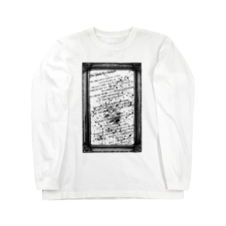 ghost story -INUKAI's house- BK TC-040 Long sleeve T-shirts
