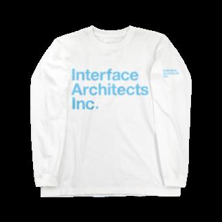 TATEYAMAのI/A logo Long sleeve T-shirts