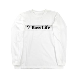 Bass Life Long sleeve T-shirts