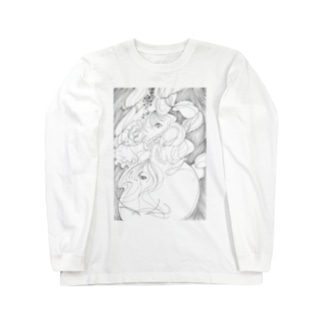 『白紙のわたし』 Long sleeve T-shirts