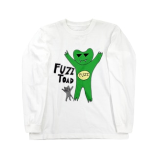 fuzzガエル2014 Long sleeve T-shirts
