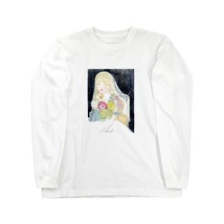 物部書房の『不穏な花嫁』 Long sleeve T-shirts