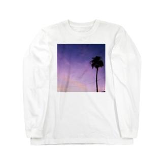 Summer night Long sleeve T-shirts