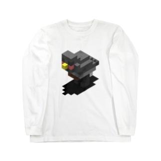 ドデカブンチョ Long sleeve T-shirts