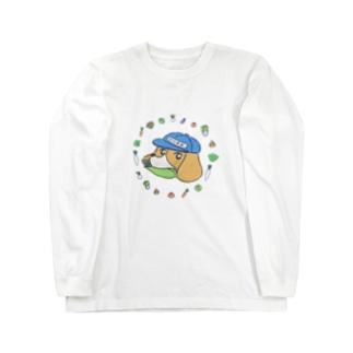 モロコシとビー Long sleeve T-shirts