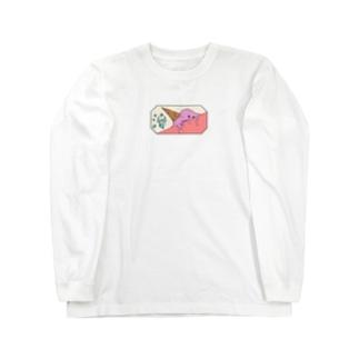【NANN TO NAKU】もうしょ Long sleeve T-shirts