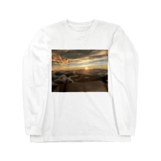 けん兄@の御来光 Long sleeve T-shirts