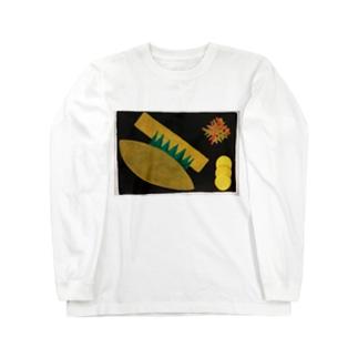 のり弁当 Long sleeve T-shirts