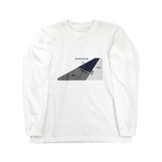 地学選択Tシャツのやつ Long sleeve T-shirts