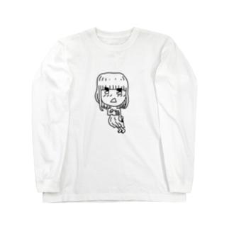 恥ずかしがーる Long sleeve T-shirts