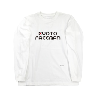 KYOTO FREEMANロゴ Long sleeve T-shirts