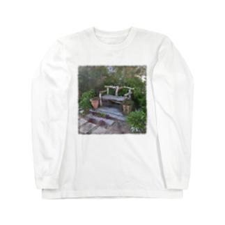 休息の椅子 Long sleeve T-shirts