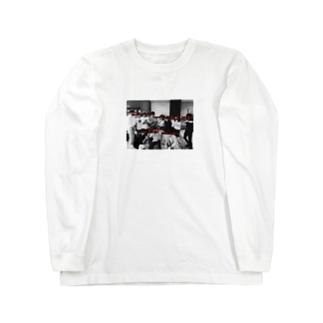 ヤリサーじゃないよ Long sleeve T-shirts