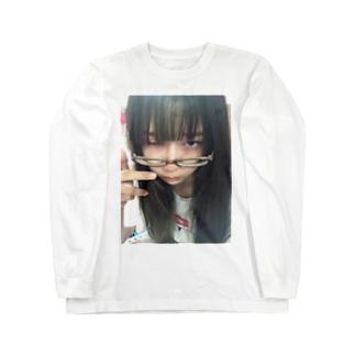 顔 Long sleeve T-shirts