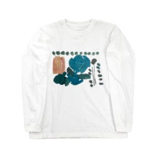 flower. Long sleeve T-shirts