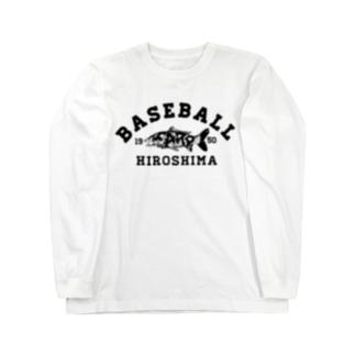 HIROSHIMA BASEBALL  Long sleeve T-shirts