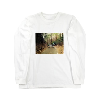 ちゃり Long sleeve T-shirts