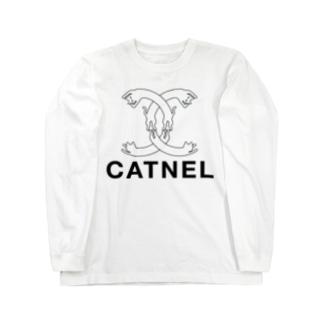 CATNEL 2018秋冬モデル Long sleeve T-shirts