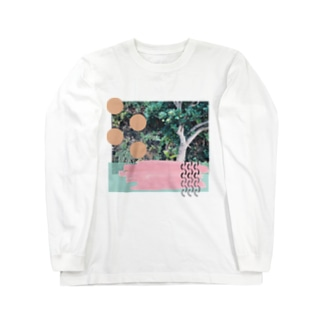 かわいい木 Long sleeve T-shirts