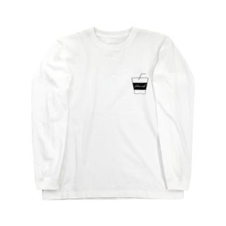 filled with(coffee) Long sleeve T-shirts