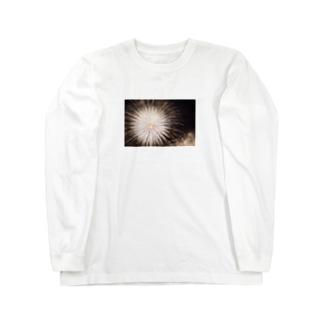 花火 Long sleeve T-shirts