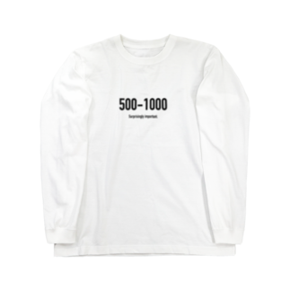 wlmのPOINTS - 500-1000 Long sleeve T-shirts