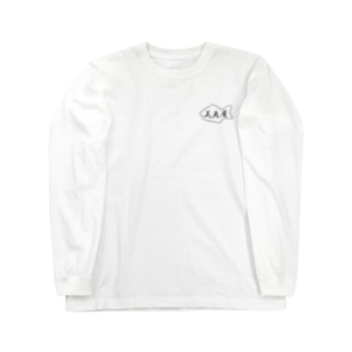 美角屋マーク(小/黒Ver) Long sleeve T-shirts