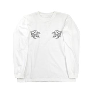 byoubu-tiger Long sleeve T-shirts