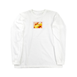 FRUIT peach&goldkiwi Long sleeve T-shirts