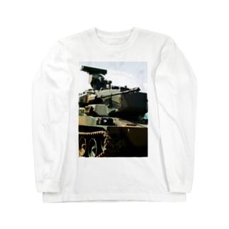 スカイシューターくん Long sleeve T-shirts