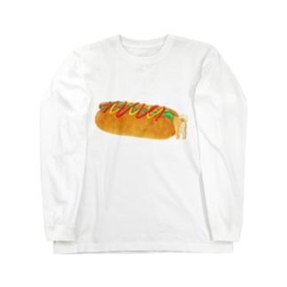 ホットドッグドッグ Long sleeve T-shirts