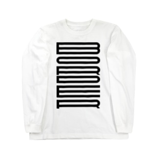 ボーダーに見えるBORDER Long sleeve T-shirts