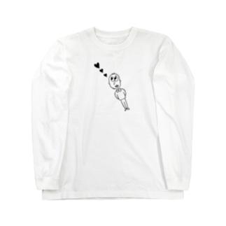 heart♡ Long sleeve T-shirts