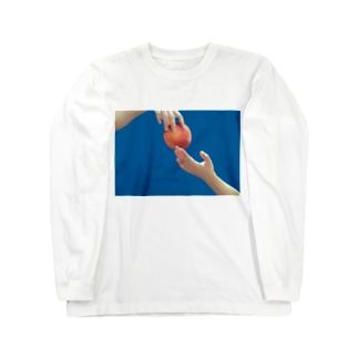 peach Long sleeve T-shirts