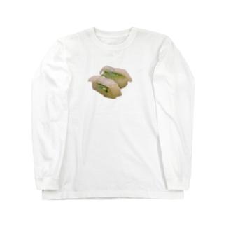 エンガワ!!! Long sleeve T-shirts