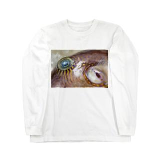 死んだ魚の目_キタマクラ_20180825_0645 Long sleeve T-shirts