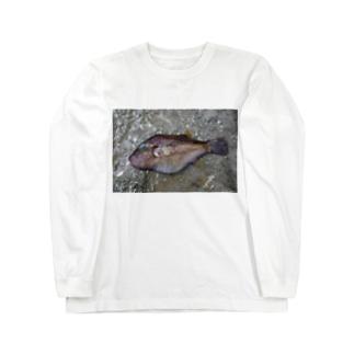 死んだ魚の目_キタマクラ_20180825_0648' Long sleeve T-shirts